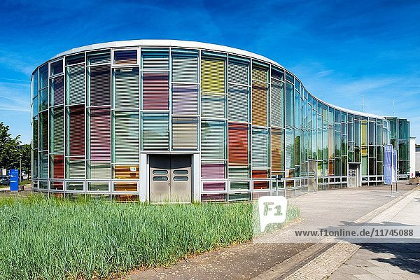 Center for Photonics and Optical Technologies  Photonics Center  part of Humboldt University at the Science and Technology Park in Adlershof Berlin  Germany.