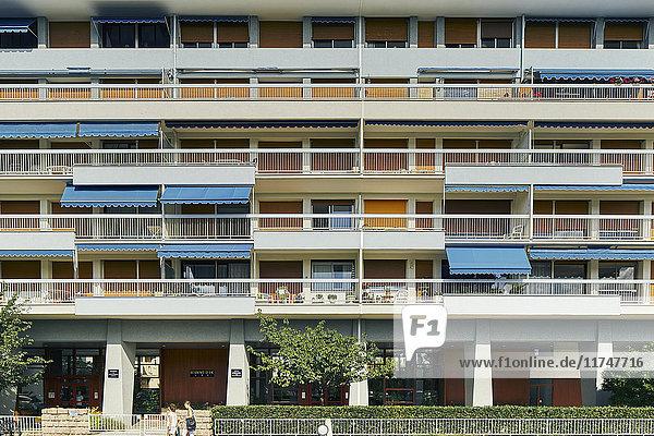 Apartment building  Vichy  France