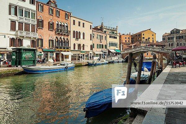 Cannaregio district of Venice.