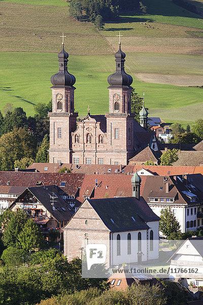 St. Peter Monastery  Glottertal Valley  Black Forest  Baden Wurttemberg  Germany  Europe