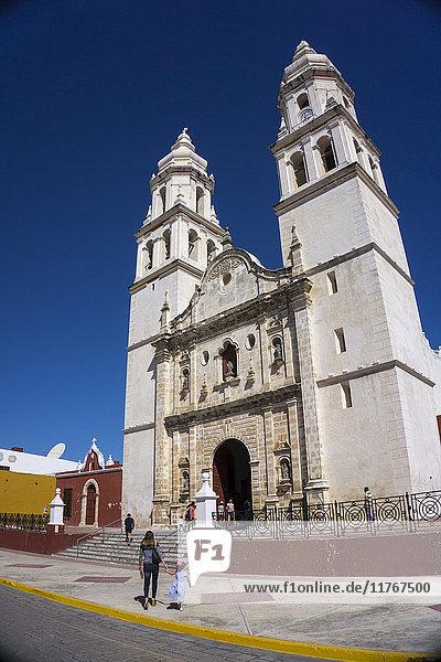 Cathedral  Nuestra Signora de Purisima Concepcion  Campeche  UNESCO World Heritage Site  Mexico  North America