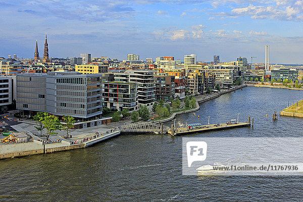 Hafen City  Hamburg  Germany  Europe