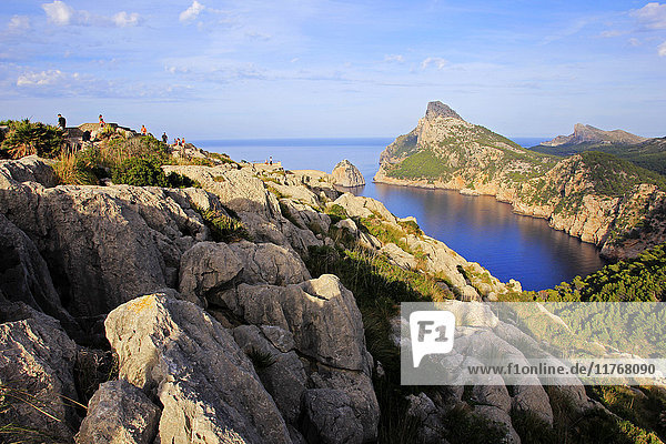 Cap de Formentor  Majorca  Balearic Islands  Spain  Mediterranean  Europe