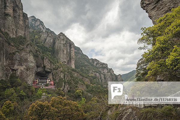 North Yandang Scenic Area  Zhejiang province  China  Asia