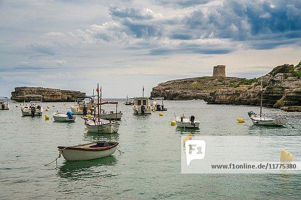 Cala Alcaufar. Sant Lluis Municipality. Minorca. Balearic Islands. Spain