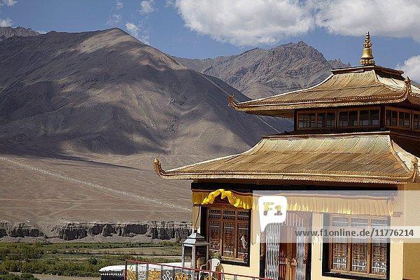Spituk Gompa  Spituk  Leh  Ladakh  India.