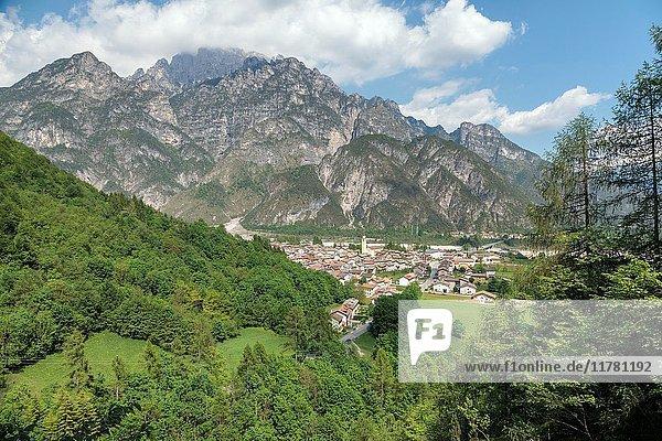 Cimolais in Valcellina  province of Pordenone  Friuli Venezia Giulia  Italy  Europe.