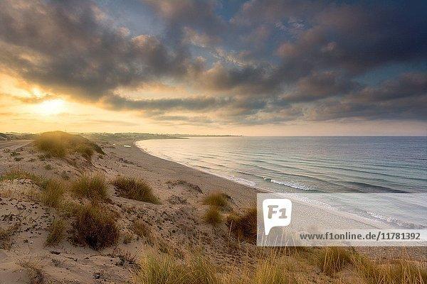 Sunrise in Salento  Taranto province  Puglia district  Italy  Europe.