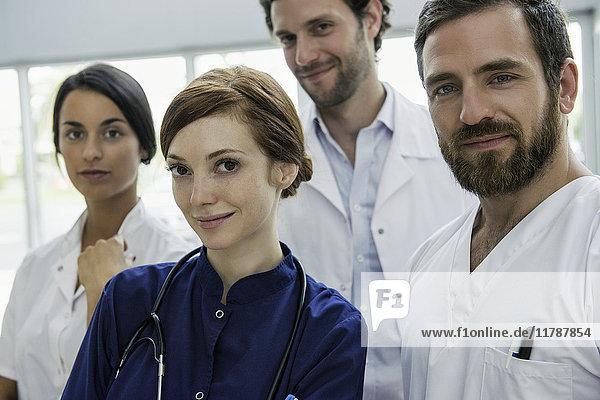 Gesundheitspersonal  Porträt