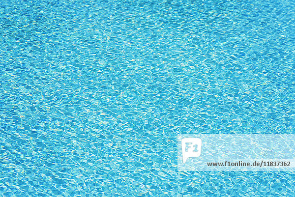 Vibrant blue water surface Vibrant blue water surface