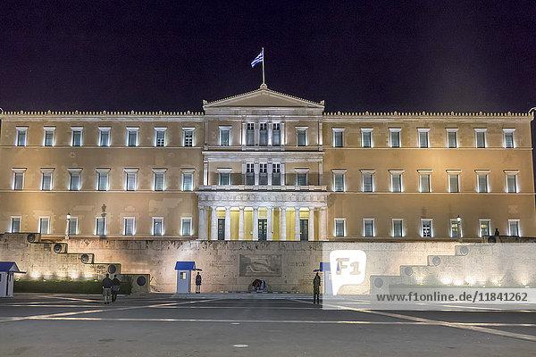 Parliament  Syntagma Square  Athens  Greece  Europe