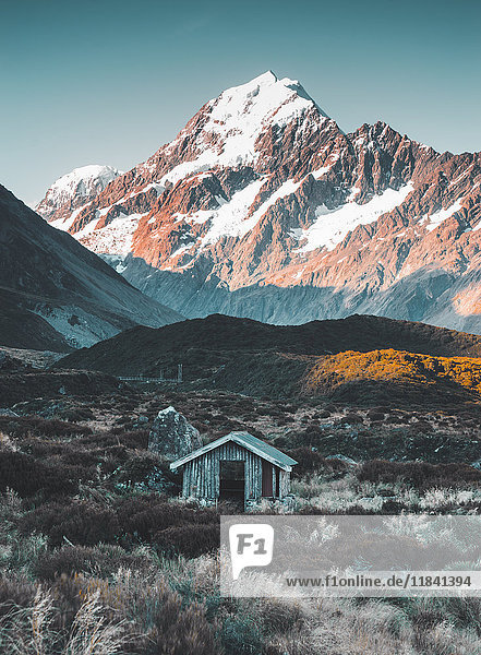 Hooker Valley Track  Mount Cook  Aoraki/Mount Cook National Park  UNESCO World Heritage Site  Southern Alps  South Island  New Zealand  Pacific