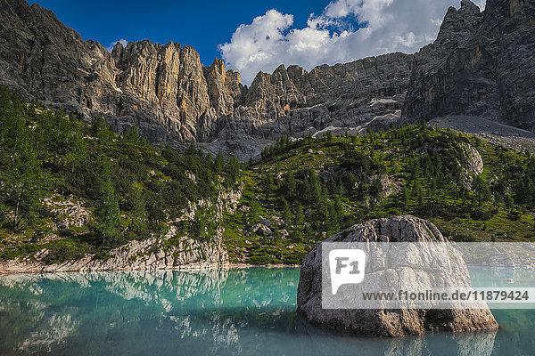'Sorapiss Lake  Italian Dolomites; Cortina  Italy'