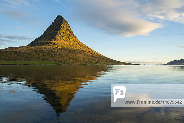 'Kirkjufell  the most photographed mountain in Iceland; Iceland'