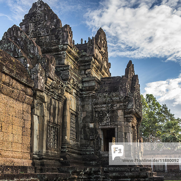 'Temple in Angkor Archaeological Park; Siem Reap Province  Cambodia'
