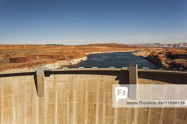 'Glen Canyon Dam  Colorado River; Arizona  United States of America'