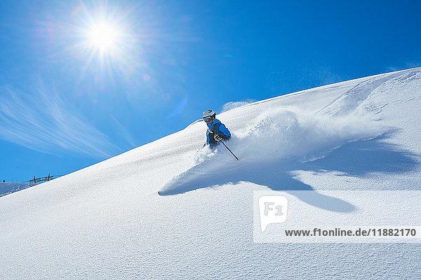 Männerskilauf  Hintertux  Tirol  Österreich