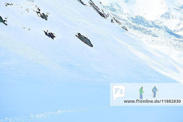 People on skiing holiday  Hintertux  Tirol  Austria
