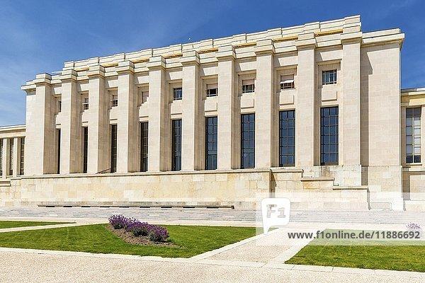 Palais des Nations  UN-Hauptquartier  Genf  Schweiz  Europa