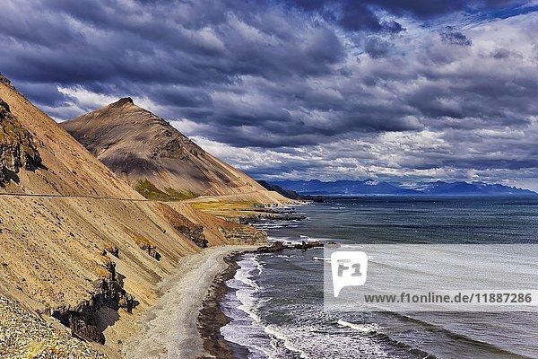 Krossanesfjall  Eystrahorn  Djúpivogur  Austurland  Island  Europa