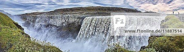 Wasserfall Dettifoss  Vidhirholl  Norðurland Eystra  Island  Europa