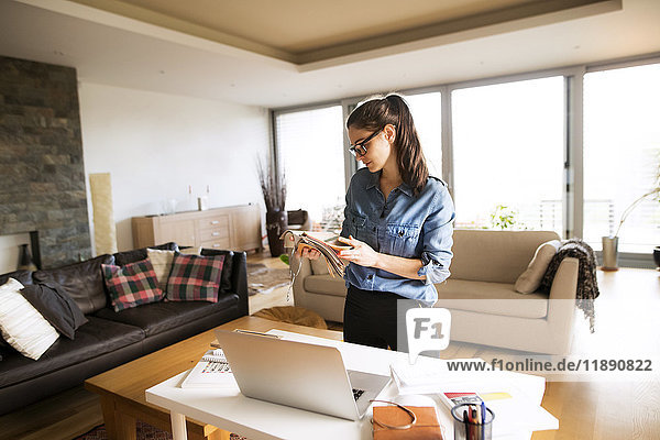 Freiberufler  die zu Hause arbeiten