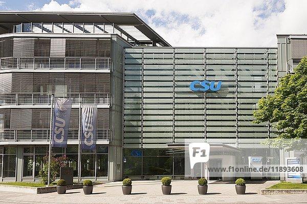 CSU Landesleitung und neues Hauptquartier 2017  Parkstadt Schwabing  München  Bayern  Deutschland  Europa