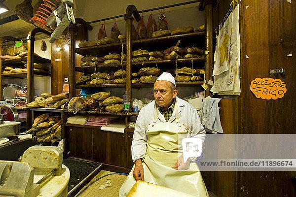 Giorgio Pancaldi Delicatessen seller  Reggio Emilia  Italy