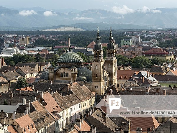 Orthodox Holy Trinity Cathedral  Sibiu  Romania  Europe