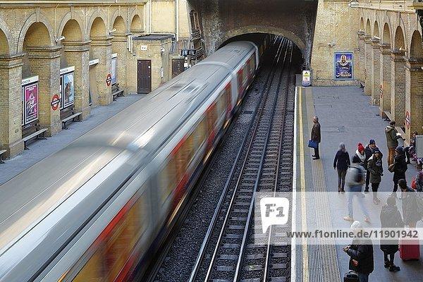 Underground Station  Underground  Paddington  London  England  United Kingdom  europe  Europe