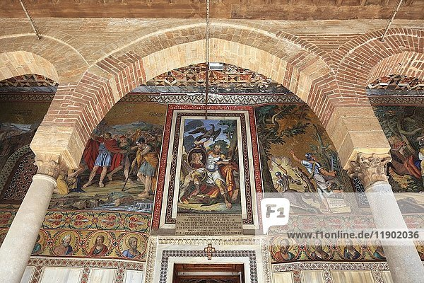 Palazzo Reale  auch Palazzo dei Normanni oder Normannenpalast genannt  in der Cappella Palatina  Palermo  Sizilien  Italien  Europa
