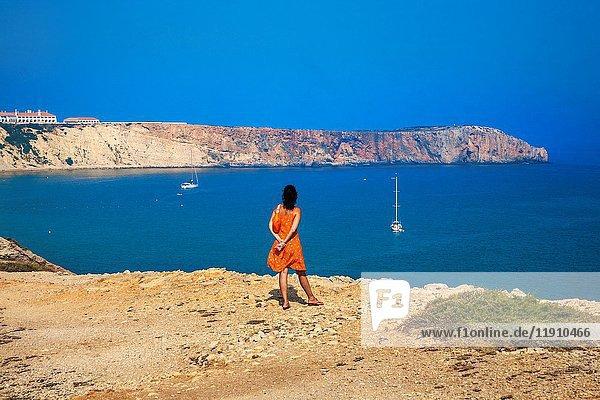 Arrifana beach. Aljezur council. Vicentine Coast. Faro district. Algarve. Portugal