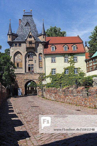 Meissen  Castle. Gate to Albrechtsburg  Saxony  Germany  Europe.