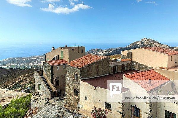 Sant'Antonino  Corsica  France.