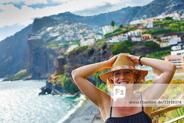 Camara de Lobos. Madeira  Portugal  Europa.