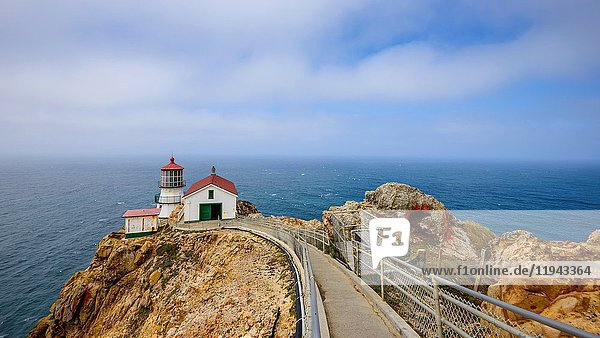 Point Reyes Lighthouse  California  USA.