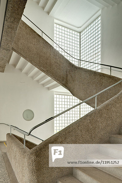 Staircase in a school