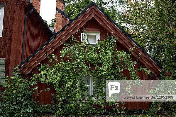 Sweden  Stockholm  house in the Fjaellgatan