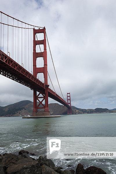 Vereinigte Staaten von Amerika USA Golden Gate Bridge San Francisco