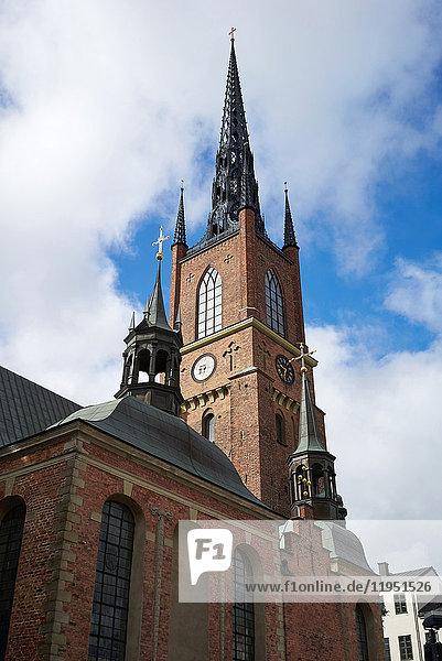Schweden  Stockholm  Riddarholmskyrkan