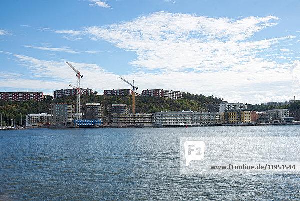 Schweden  Mjölnarvägen  Neubaugebiet