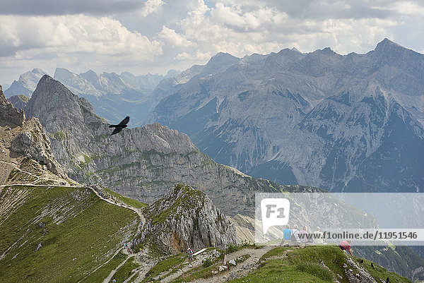 Alpen  Karwendel  Berglandschaft