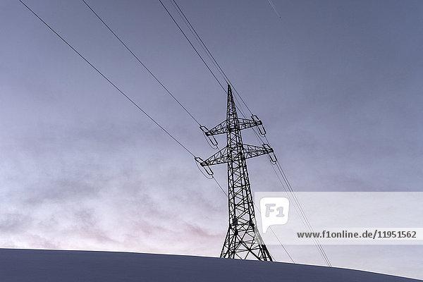 Stromversorgungsleitung