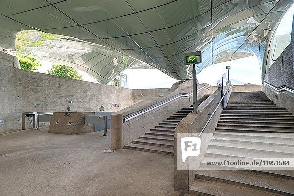 Österreich  Innsbruck  Hungerburgbahnstation