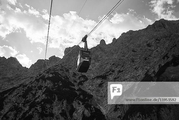 Alps  Karwendelbahn cable car