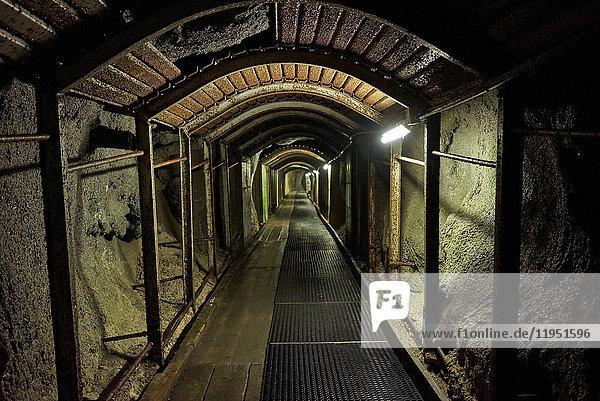 Deutschland  Bayern  Mittenwald  Tunnel am Dammkar