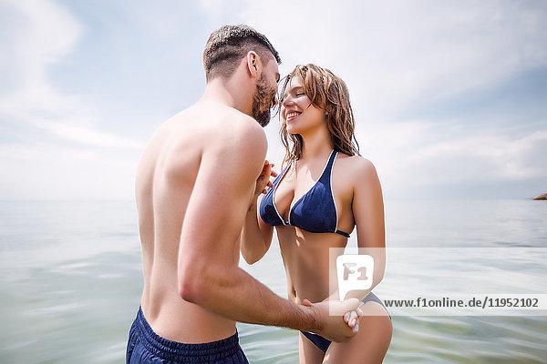 Ehepaar auf See