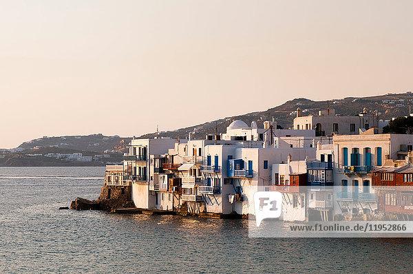 Klein-Venedig  Stadt Mykonos  Kykladen  Griechenland