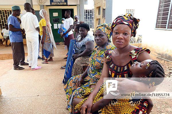 Afrika. Krankenhaus Sotouboua. Togo.