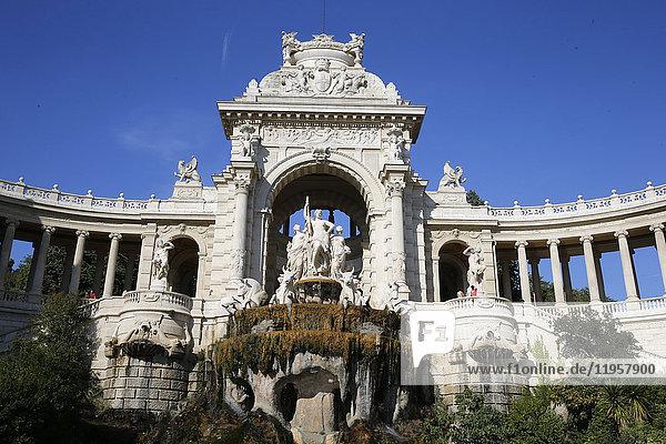 Palais Longchamp (Longchamp Palace)  Marseille  Bouches-du-Rhone  Provence-Alpes-Cote d'Azur  France  Europe